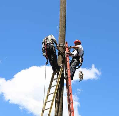 Servicios distribucion energia